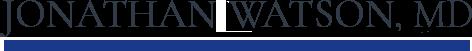 Jonathan  Watson, MD Logo